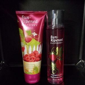 Sun Ripened Raspberry body care bundle